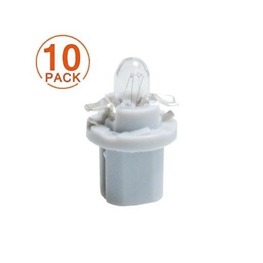 Lámpara M-Tech 12V  1.2W  B8.5d  Gris (10 Unidades)