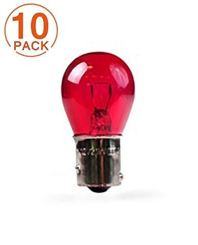 Lámpara M-TECH PR21W 12V 21W BAW15s RED (10 Unidades)