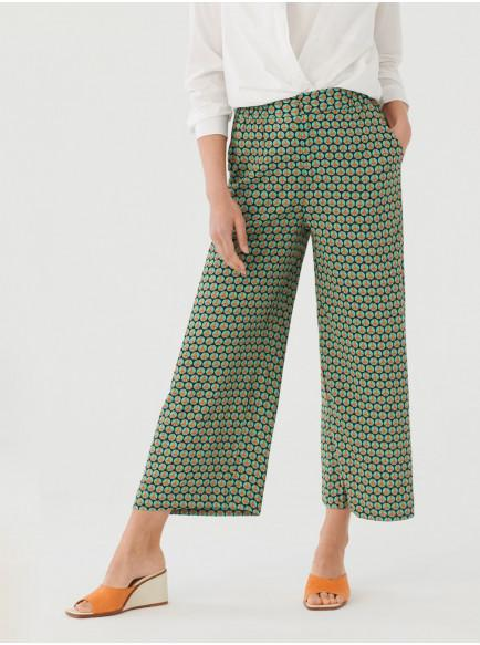 PANTALÓN CULOTTE PEACE DOT PRINT, NICE THINGS, REF. WWM089