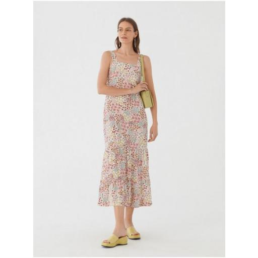 VESTIDO PEACEFUL GARDEN PRINT, NICE THINGS, REF. WWM040