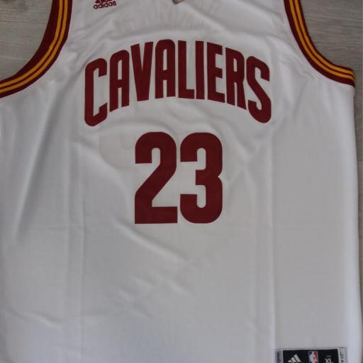 Cleveland Cavaliers #23 LeBron James White Home Swingman NBA