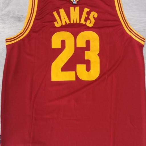 Cleveland Cavaliers #23 LeBron James 2016 The Finals Road Swingman NBA [1]