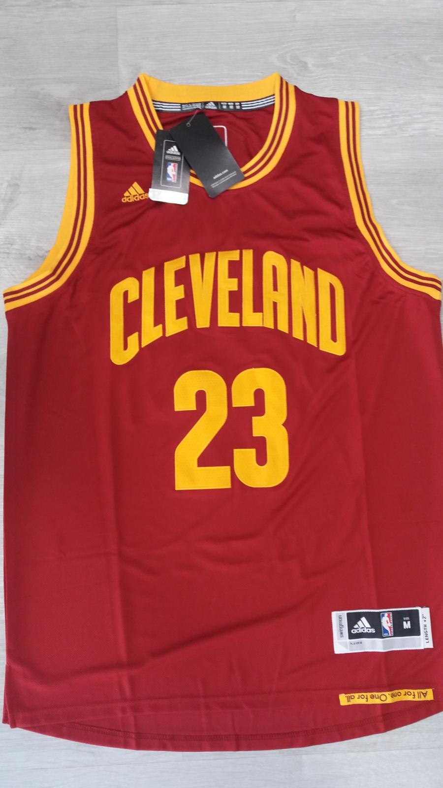 Cleveland Cavaliers #23 LeBron James 2016 The Finals Road Swingman NBA