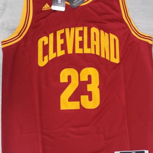 Cleveland Cavaliers #23 LeBron James 2016 The Finals Road Swingman NBA [0]