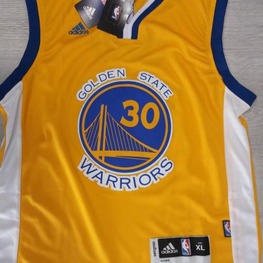Golden State Warriors #30 Stephen Curry Gold Stitched Adidas Alternate NBA Swingman Jersey