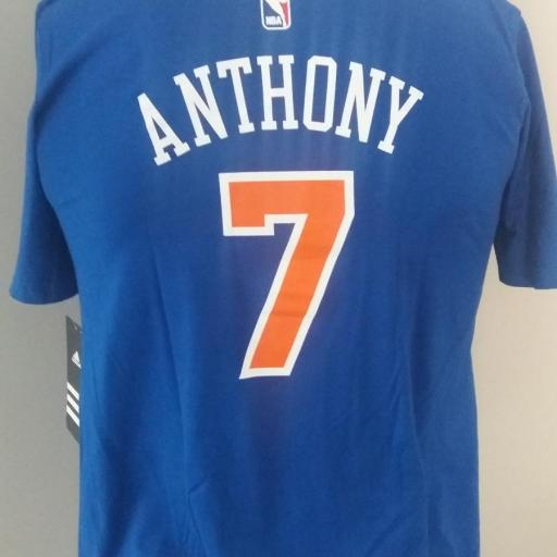 Jersey - T-shirt - Joven - Carlmelo Anthony - New York Knicks - Alternate - Adidas