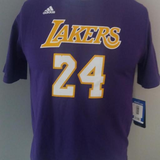 Jersey - T-shirt - Joven - Kobe Bryant - Los Angeles Lakers - Alternate - Adidas [1]