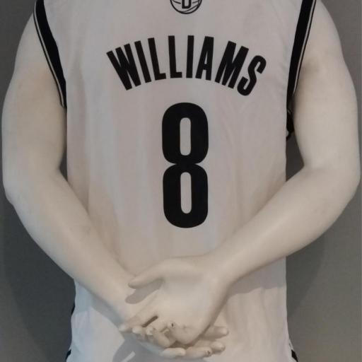 Jersey - Replica - Hombre - Deron Williams - Brooklyn Nets - Home - Adidas [1]