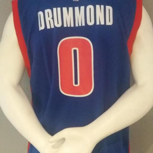 Jersey - Replica - Hombre - Andre Drummond - Detroit Pistons - Road - Adidas [1]