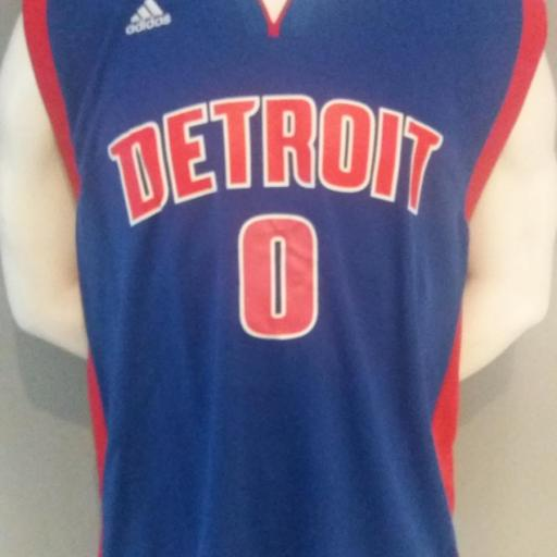 Jersey - Replica - Hombre - Andre Drummond - Detroit Pistons - Road - Adidas
