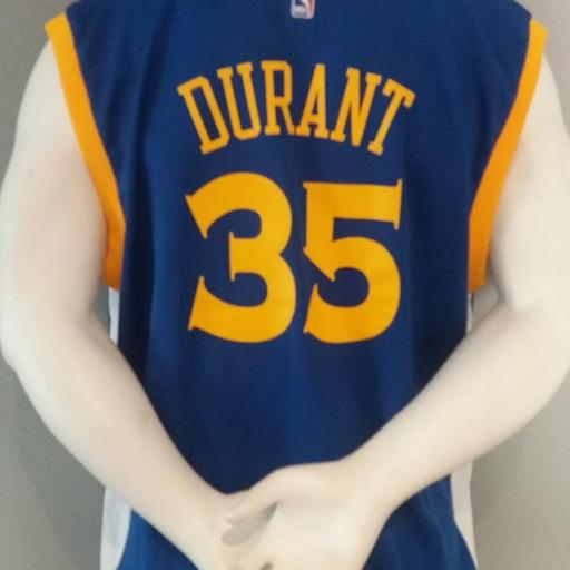 Jersey - Replica - Hombre - Kevin Durant - Golden State Warriors - Road - Adidas [1]