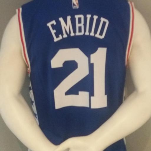 Jersey - Replica - Hombre - Joel Embiid - Philadelphia 76ers - Road - Adidas