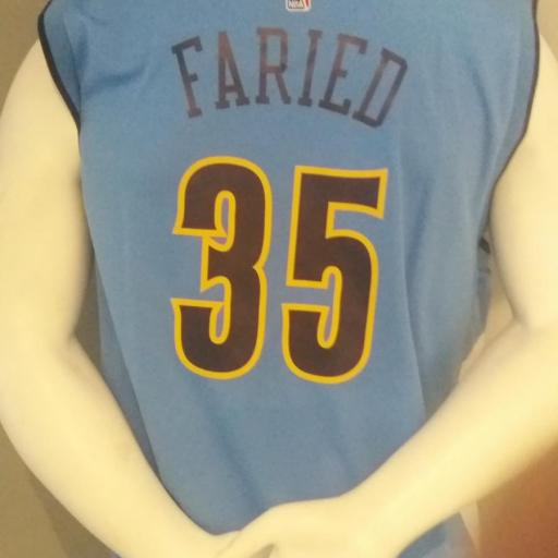 Jersey - Replica - Hombre - Kenneth Faried - Denver Nuggets - Road - Adidas