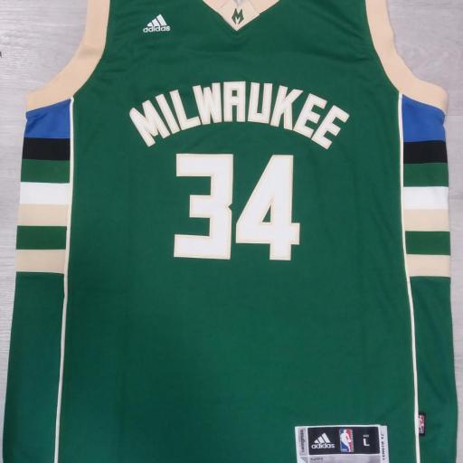 Milwaukee Bucks #34 Giannis Antetokounmpo