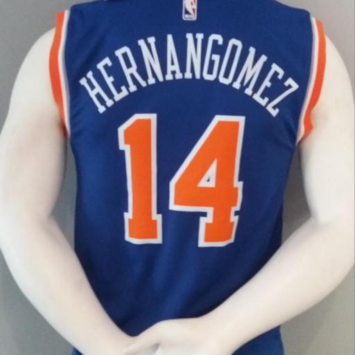 Jersey - Replica - Hombre - Willy Hernangomez - New York Knicks - Road - Adidas [1]