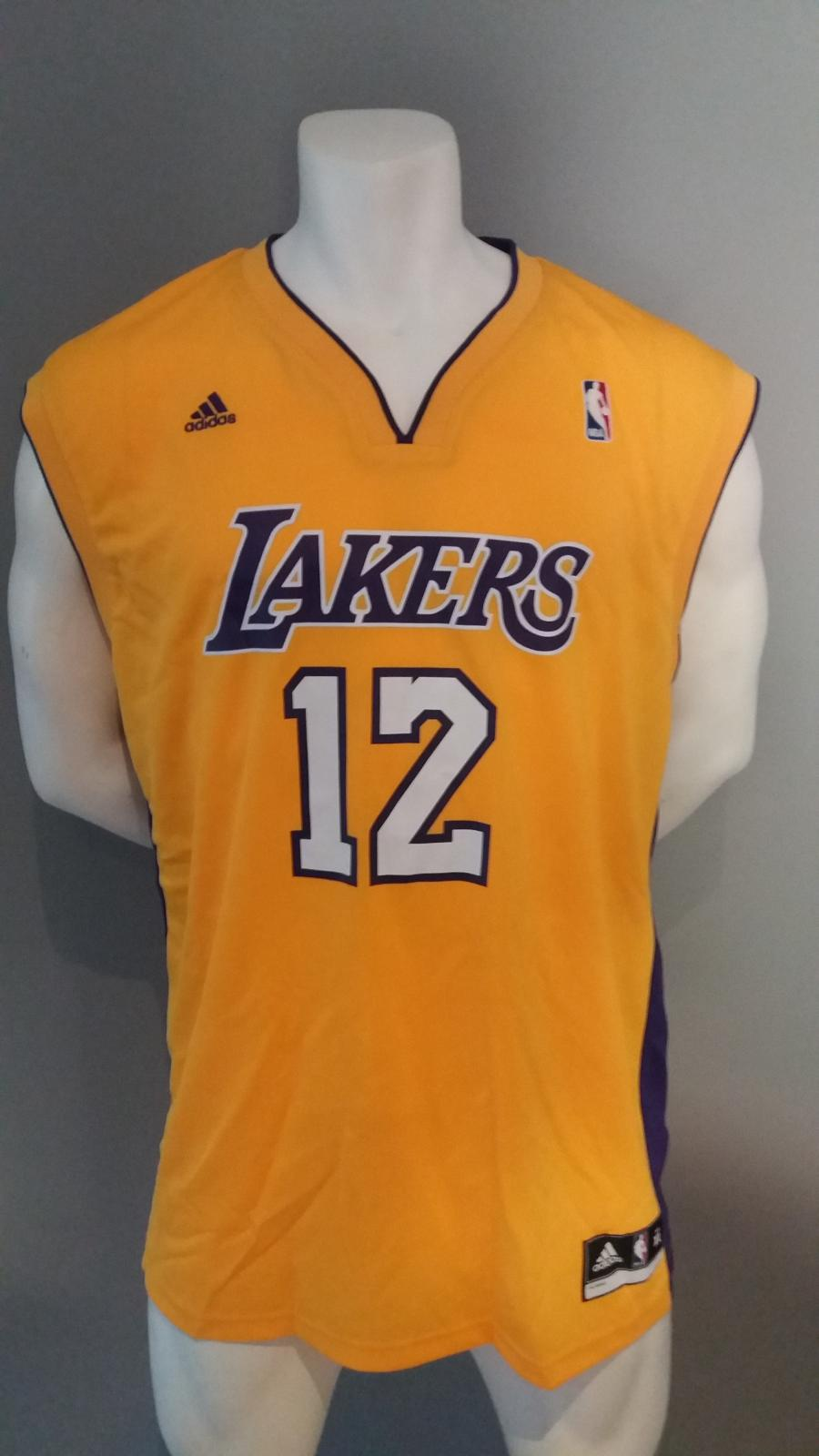 Jersey - Replica - Joven - Dwight Howard - Los Angeles Lakers - Home - Adidas