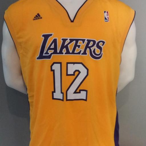 Jersey - Replica - Hombre - Dwight Howard - Los Angeles Lakers - Home - Adidas