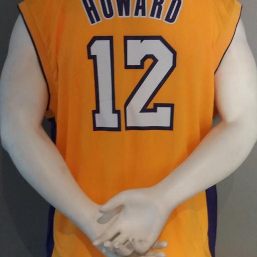 Jersey - Replica - Joven - Dwight Howard - Los Angeles Lakers - Home - Adidas [1]
