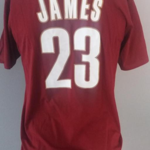 Jersey - T-shirt - Hombre - Lebron James - Cleveland Cavaliers - Alternate - Adidas [1]