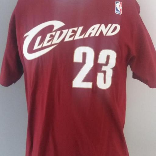Jersey - T-shirt - Hombre - Lebron James - Cleveland Cavaliers - Alternate - Adidas