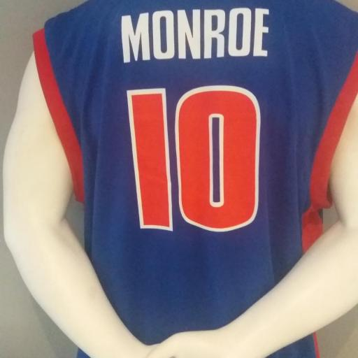 Jersey - Replica - Hombre - Greg Monroe - Detroit Pistons - Road - Adidas