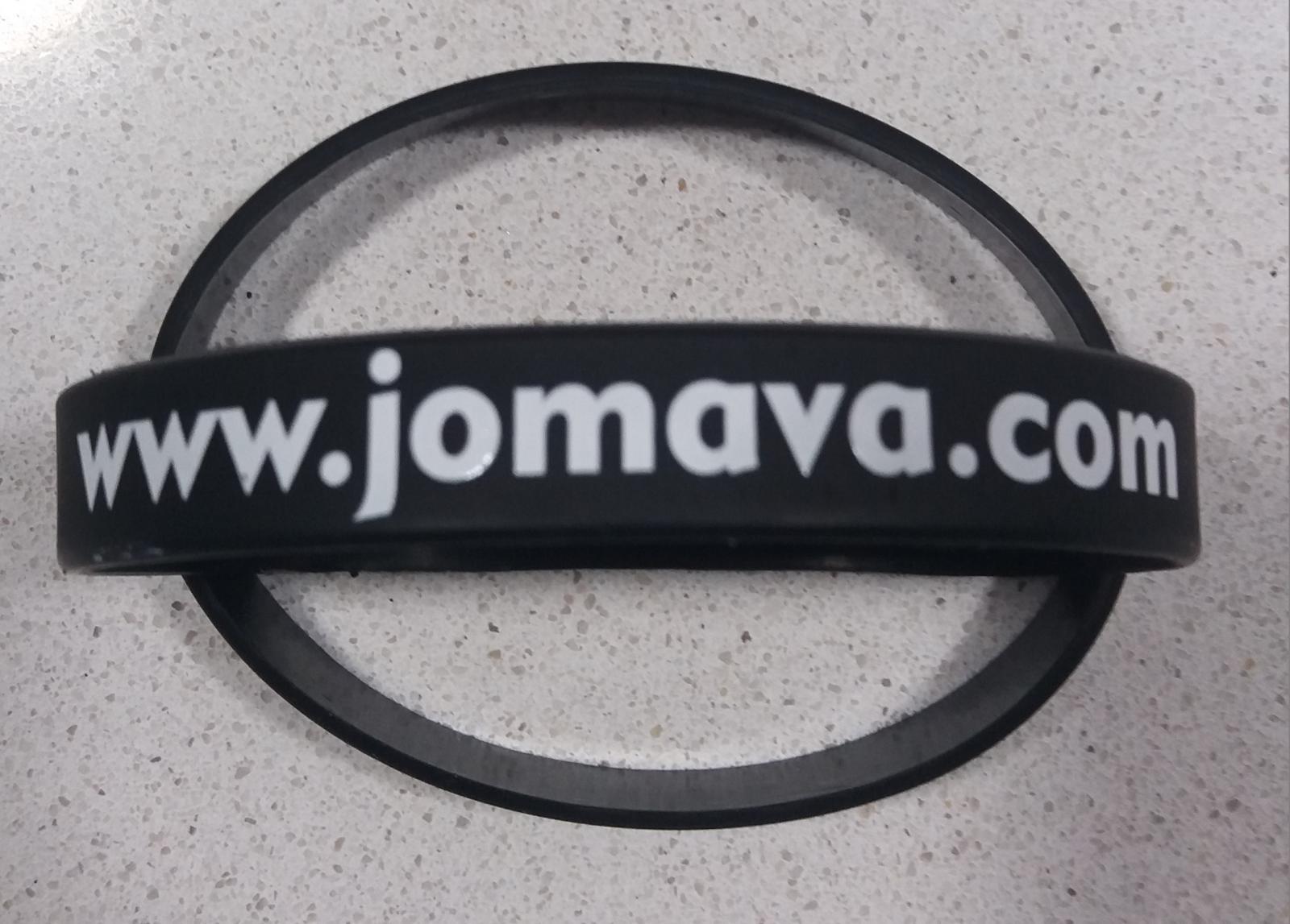 Pulsera www.jomava.com - Consigue tu camiseta gratis