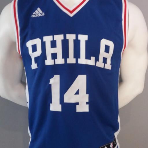 Jersey - Replica - Hombre - Sergio Rodriguez - Philadelphia 76ers - Road - Adidas