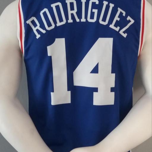 Jersey - Replica - Hombre - Sergio Rodriguez - Philadelphia 76ers - Road - Adidas [1]