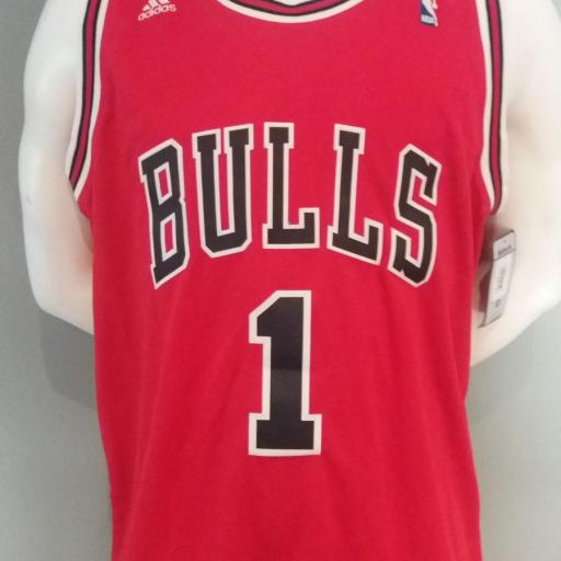 Jersey - Swingman - Hombre - Derrick Rose - Chicago Bulls - Road - Adidas
