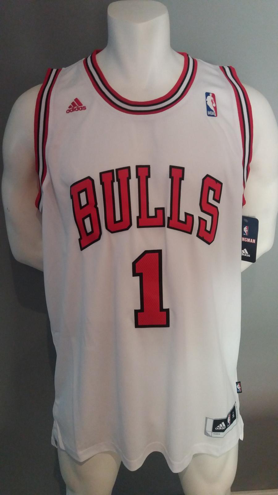 Jersey - Swingman - Hombre - Derrick Rose - Chicago Bulls - Home - Adidas