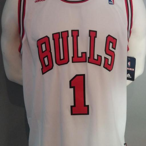 Jersey - Swingman - Hombre - Derrick Rose - Chicago Bulls - Home - Adidas