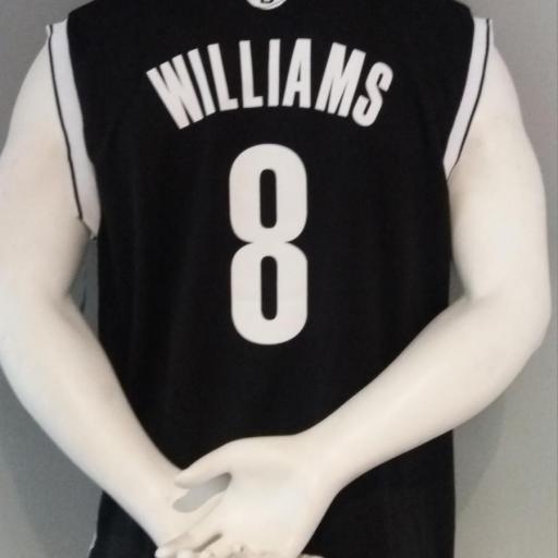 Jersey - Replica - Hombre - Deron Williams - Brooklyn Nets - Road - Adidas [1]