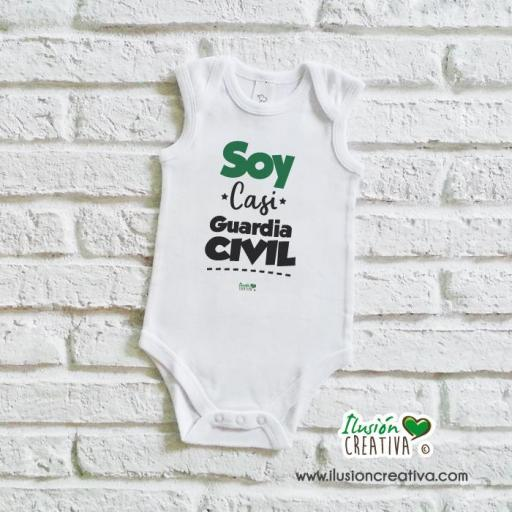 Body bebé - Soy casi guardia civil [1]