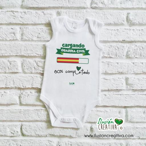 Body bebé - Cargando Guardia Civil
