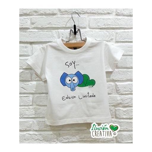 Camiseta Línea Chiquinete elefante Fermín.- Soy edición limitada [0]