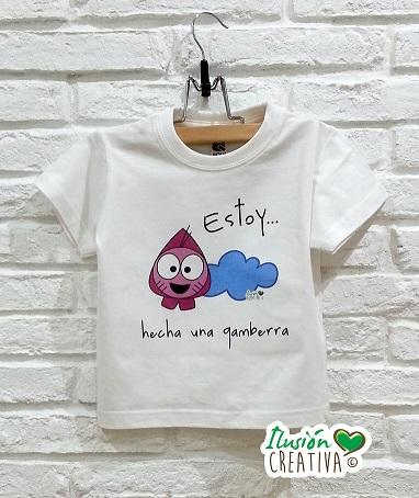 Camiseta Estoy hecha una gamberra (Gamba Marisa)