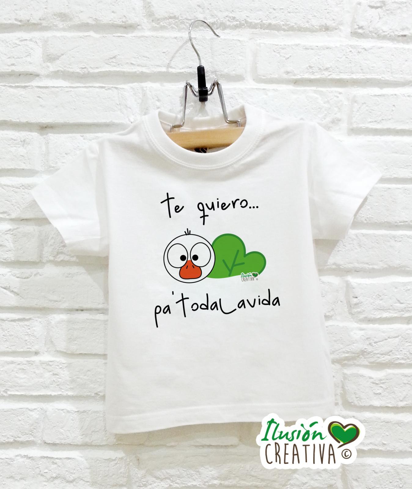 Camiseta Línea Chiquinete - Te quiero pa'todalavida