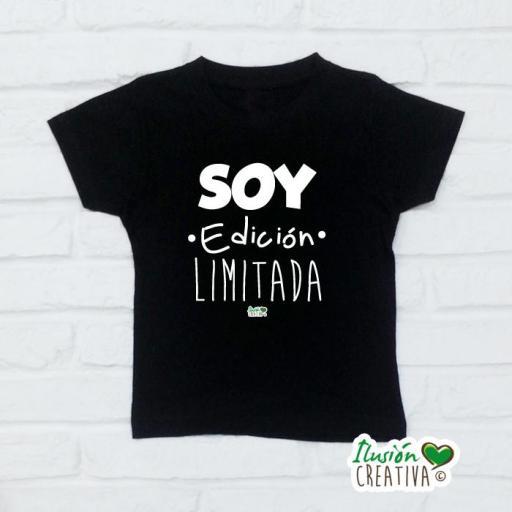 Camiseta Niñ@s - Soy edición limitada