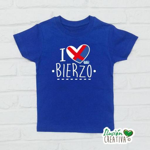 Camiseta Niñ@s - I Love Bierzo [0]