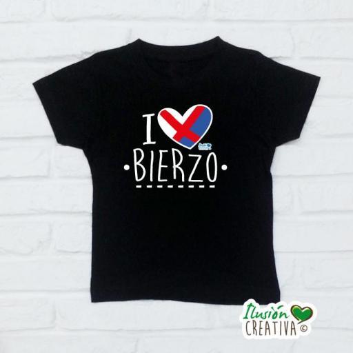 Camiseta Niñ@s - I Love Bierzo [1]