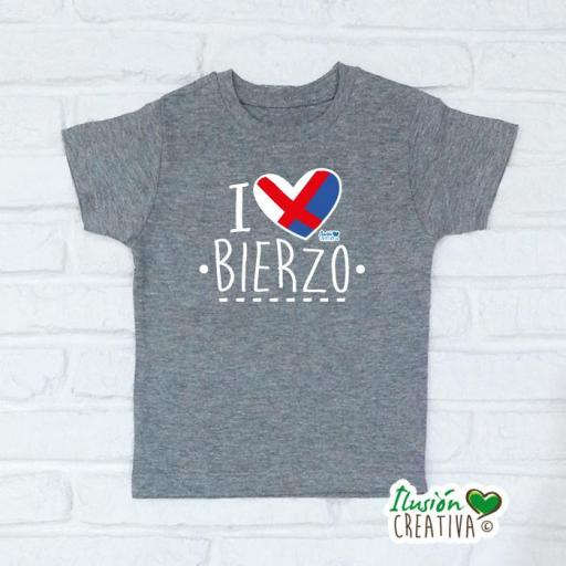Camiseta Niñ@s - I Love Bierzo [2]