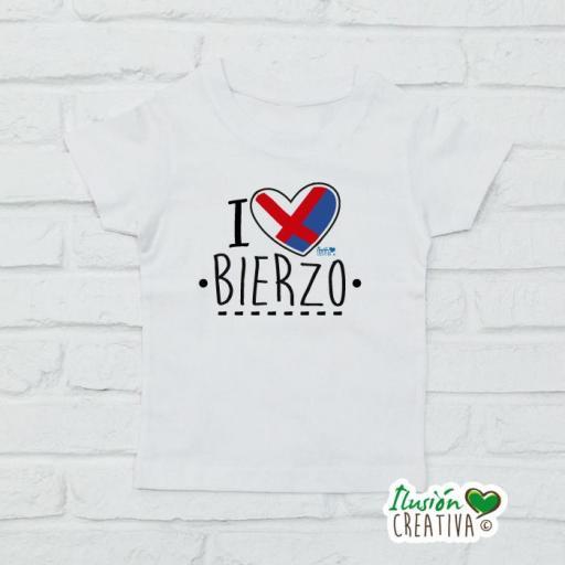 Camiseta Niñ@s - I Love Bierzo [3]