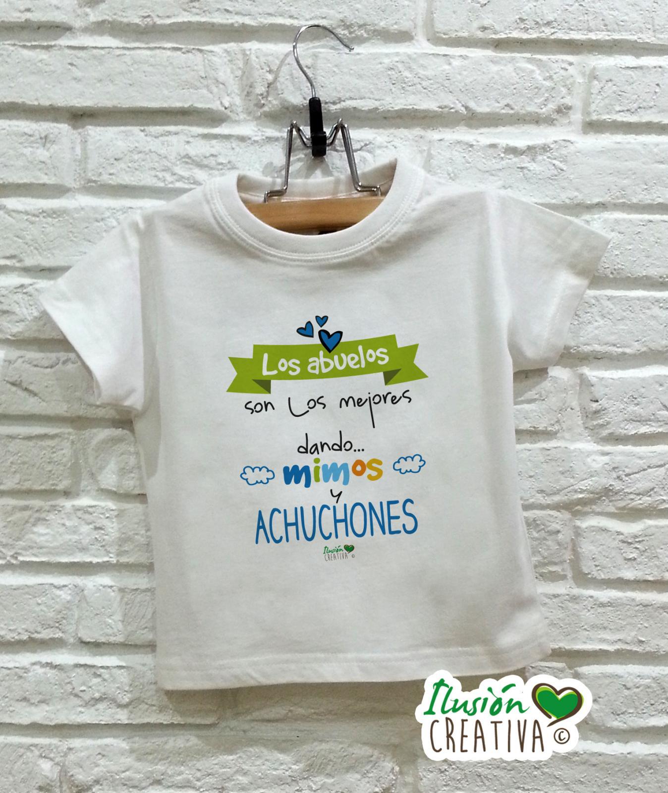 Camiseta niño - Abuelos achuchones