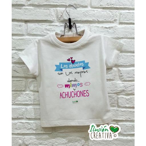 Camiseta niña - Abuelos achuchones
