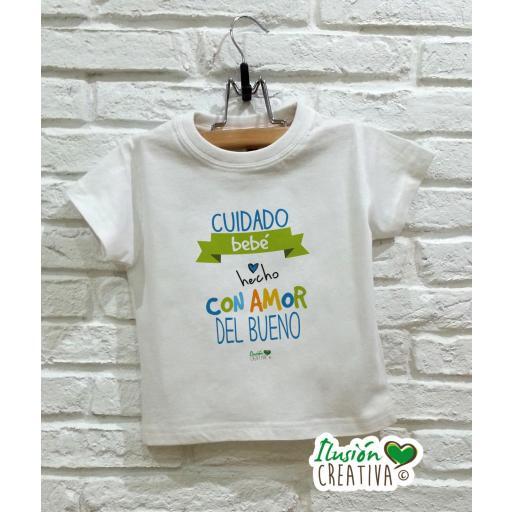 Camiseta niño - Bebé hecho con amor del bueno