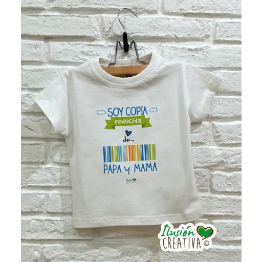 Camiseta niño - Copia reducida