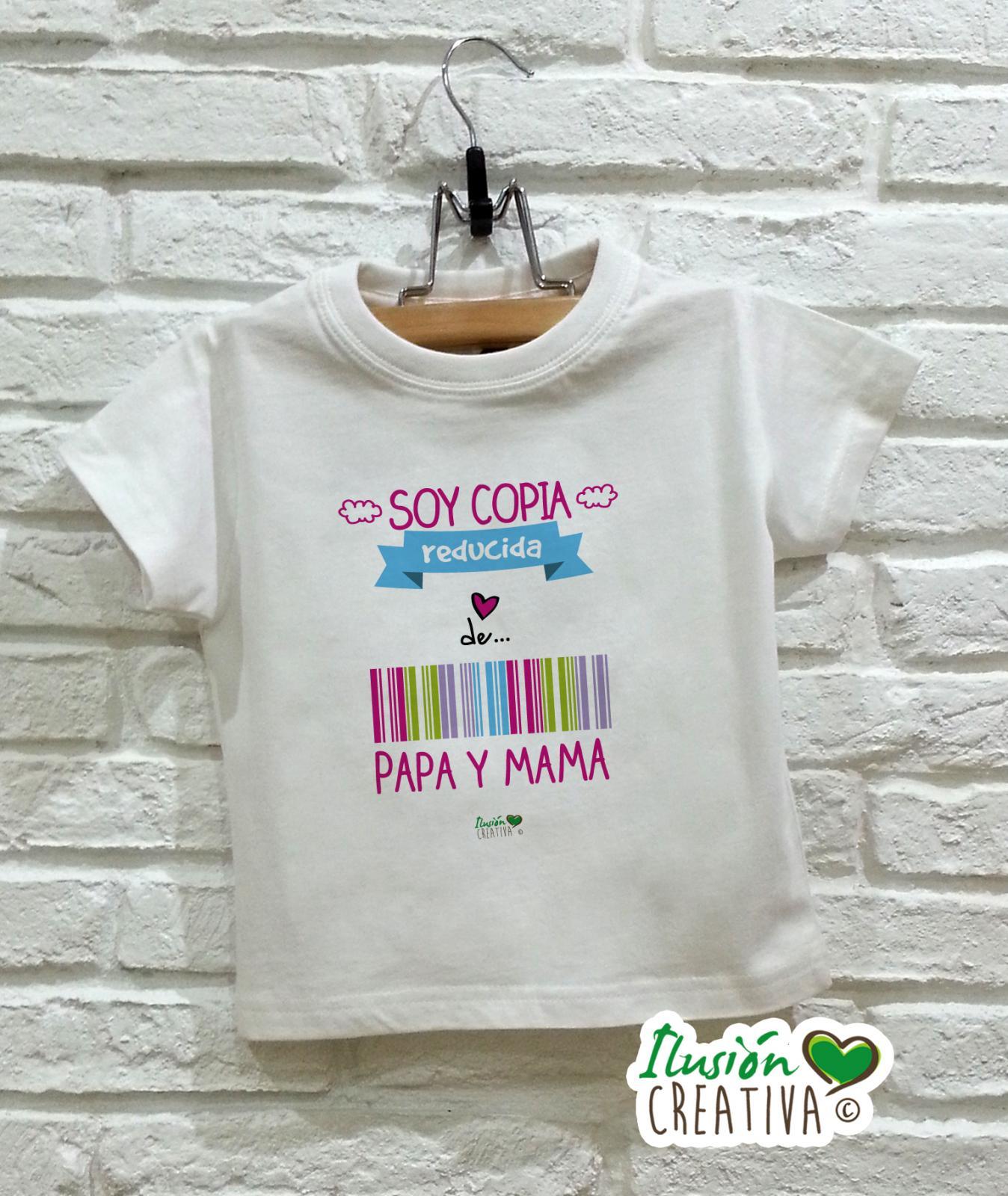 Camiseta niña - Copia reducida