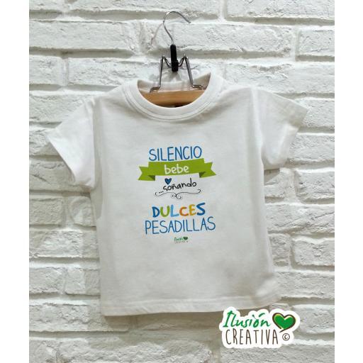 Camiseta niño - Dulces pesadillas