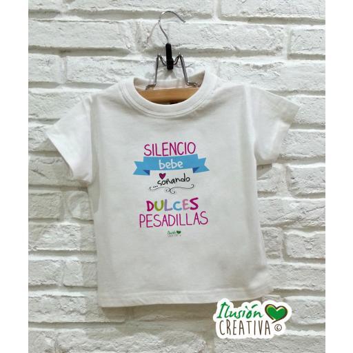 Camiseta niña - Dulces pesadillas