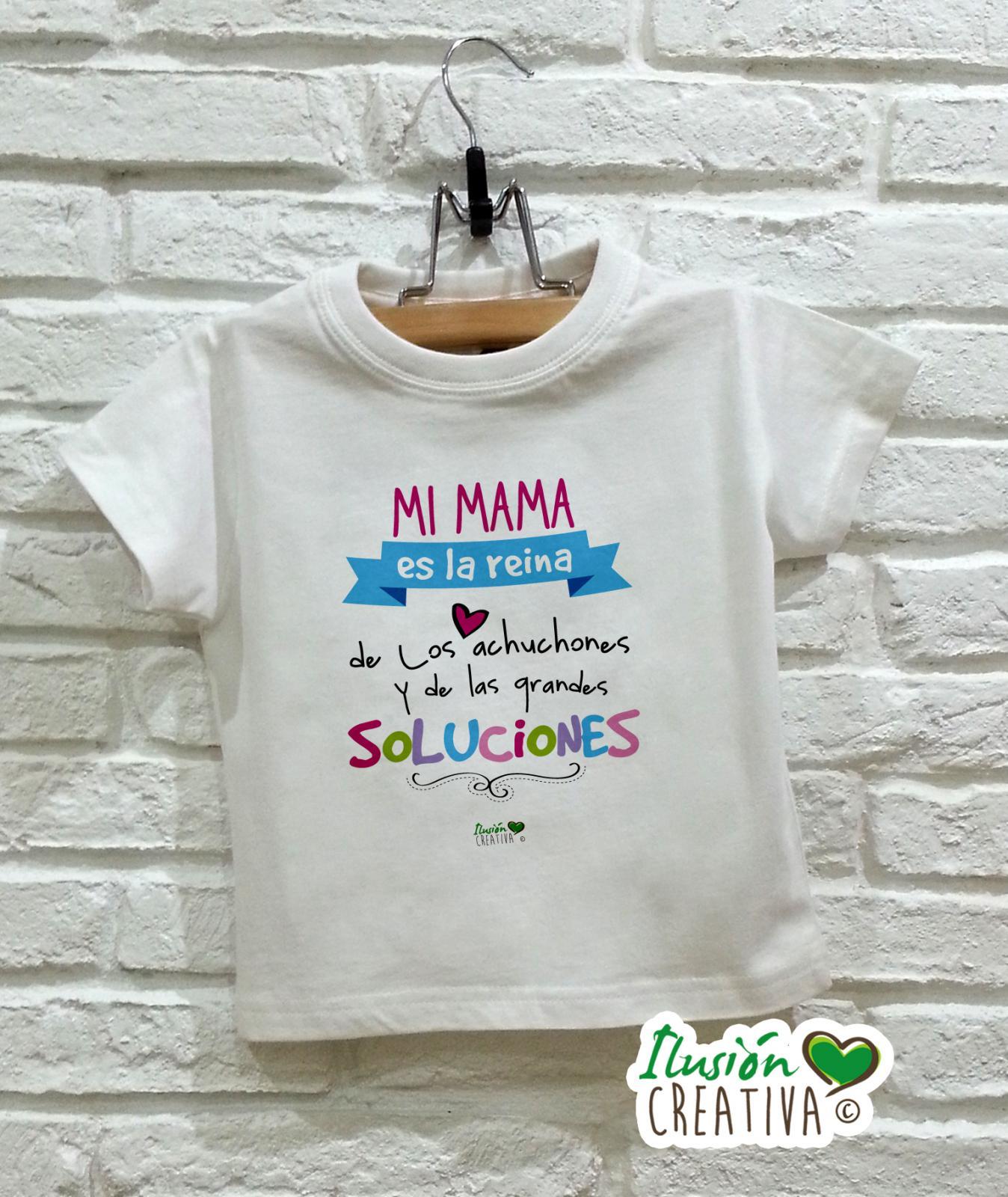 Camiseta niña - Mi mamá es la reina
